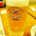 21455210 - 生ビールはキリン一番搾り