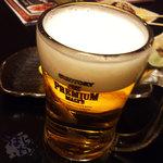 牛タン圭助 - 「生ビール」 580円