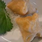 福州飯店 - 料理写真:名物もちぎょうざ