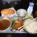 和食 古宮 - ソフト麺給食1,050円也