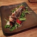 フラットキッチン - 秋サンマのサラダ