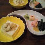21457505 - このお豆腐すっごく美味しかった。