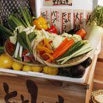 ととしぐれ - 新鮮な野菜を使っています