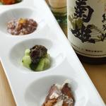 旬彩酒房 夢商人 - 産地直送の珍味の盛合せ 980円