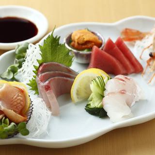 こだわりの鮮魚を堪能できます!
