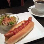 カフェ珈琲館 - コーヒーとホットドッグ