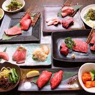 町田駅前にて、上質なお肉をコースで!