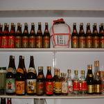 上海菜館 龍華 - ドリンク棚