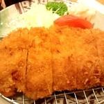 ごはん屋 旬 - ロースかつ定食¥800