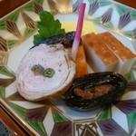 京料理 濱登久 - 美味しさもそうですが見た目の美しさにもこだわりが感じられます