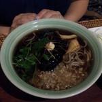 ラ ソバ - 肉味噌蕎麦