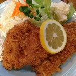 とんかつ 安右衛門 - 魚フライ定食