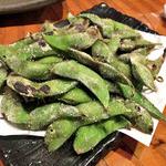 伊達酒場 強太朗 - 宮城産の焼枝豆