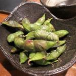 チドリアシ - 丹波黒大豆の枝豆/紫ずきん 500円