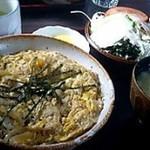 よしみ庵 - 料理写真:かつ丼定食 1,102円