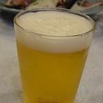 関屋 - まずはビールから