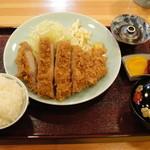 雅々丸 - とんかつ定食