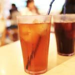 デラソウル シャルボン - ウーロン茶とアイスコーヒー '13 9月中旬