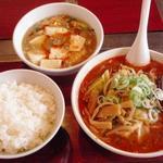 大将門 - 料理写真:マーボーランチ