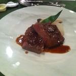 オテル・ド・ミロワール - 蓼科牛のステーキ