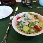 オテル・ド・ミロワール - 朝食のサラダ シーザーサラダドレッシング