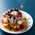 卓球酒場 ぽん蔵 - お誕生日・記念日も! みんな嬉しいデザートをご用意