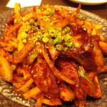 21480146 - 出色の一品 ジャンが美味しい 直火肉野菜炒め