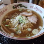 ラーメン富んや - 富んや・醤油ラーメン¥600(2013.07)