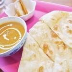 インドカレー料理ナマステグル - お子様セット555円