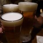 21484827 - 生ビールで乾杯です