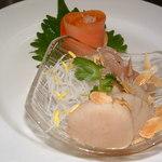 上海菜館 龍華 - 刺身の盛合せ