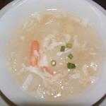 上海菜館 龍華 - 冬瓜の海鮮スープ