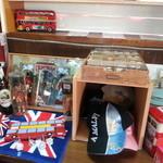 タビカフェトリッパーズ - こちらはロンドンバスの店内です。