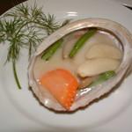 上海菜館 龍華 - あわびのクリーム煮(奶油鮑魚)