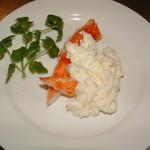 上海菜館 龍華 - タラバ蟹の卵白添え(蛋白大蟹)