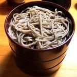殿町一色庵 - 割子蕎麦(630円)