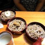 殿町一色庵 - 三味割子(780円)