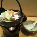 おいちゃん - 石狩鍋!!10月からの冬季限定メニューです。