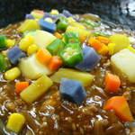 廣東 - カラフル野菜のジャージャー麺