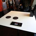 アサヒスーパードライエクストラコールドバーナゴヤ - スタイリッシュな立ち飲みテーブル