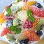 アンファンス - 料理写真:フルーツいっぱいのジャルダン