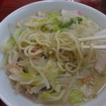 長崎飯園 - 長崎ちゃんぽん、麺リフト