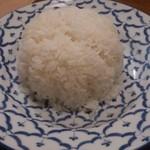 タイ料理レストラン シナモン - ・ジャスミンライス 380円