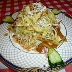 アカスディープ - 2500円コースの前菜サラダ