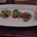 オッキャーリ オガ - 前菜とスープ