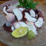 鶏海山の幸おかだ - 【H25.9.21】蛸。