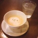 21501393 - パスタランチ1365円・スープ