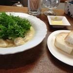 プリムローズ - 自家製ニョッキのチーズソース☆&自家製パン