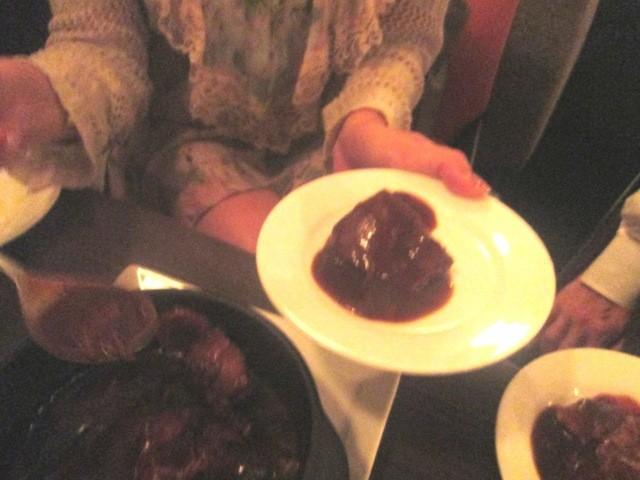 サファイア バイ レイジ オオサカ - 牛肉煮込み