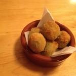 メソン・サルー - オリーブのフライ  これは美味しい〜(≧∇≦)